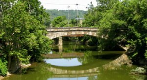 In Its Day, This West Virginia Bridge Was The Longest Single-Span Stone Arch Bridge In The U.S.