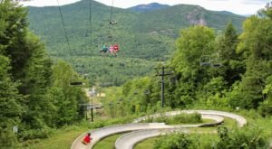 Ride Through New Hampshire On The Epic Attitash Mountain Alpine Slide
