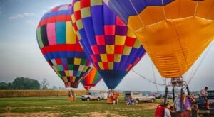 Hot Air Balloons Will Be Soaring At Pennsylvania's Lancaster Balloon Festival