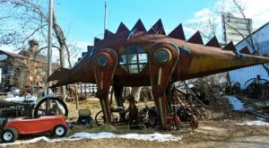 Peruse Weird Statues, Oddball Art Junk, And Lots More At M Schettl Sales, The Quirkiest Shop In Wisconsin