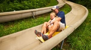 Ride Through Vermont On The Epic Bromley Mountain Resort Alpine Slide