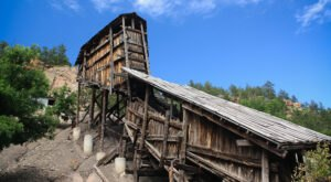 Visit These Fascinating Old Mining Structures In Wyoming For An Adventure Into The Past