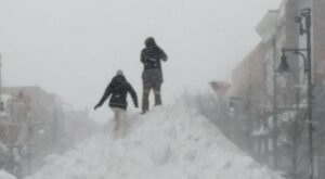 The St. Patrick's Day Blizzard Of 2007 Dumped Up to Two Feet Of Snow On Vermont