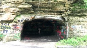 Most People Don't Know About This Abandoned Wisconsin Cave Or Its Colorful History