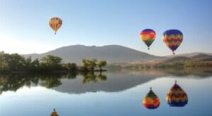 Take A Hot Air Balloon Ride Over The Temecula Valley Wine Country In Southern California For An Unforgettable Day