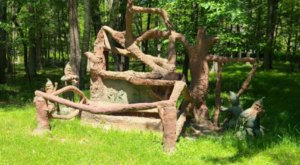 Off The Beaten Path, James Tellen Woodland Sculpture Garden Is One Of Wisconsin's Best Kept Secrets