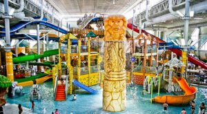 No Winter Is Complete Without A Trip To Wisconsin's Biggest Indoor Water Park At Kalahari Resort