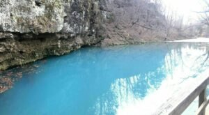 This Hidden Spring In Missouri Has Some Of The Bluest Water In The State