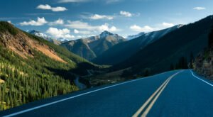 Take A Drive Down One Of Colorado's Oldest Roads For A Picture Perfect Day