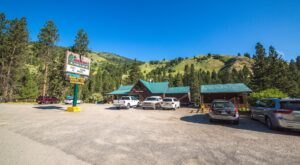 When Driving Scenic Highway 55 In Idaho, Always Stop For A Bite To Eat At The Banks Cafe