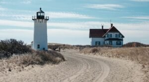 Stroll Along 3 Miles Of Pristine Beach On Your Way To Race Point Lighthouse In Massachusetts