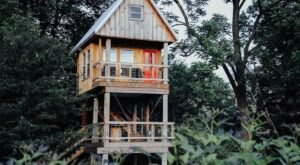 Go Off The Grid For You Next Ohio Adventure At Tullihas In The Trees Treehouse