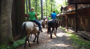 Experience The Old West On Horseback At Canyon Creek Riding Stables In Wisconsin