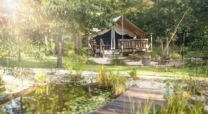 Florida's Glampground Getaway, Coldwater Gardens Is Truly One-Of-A-Kind