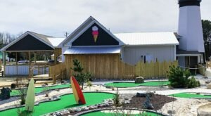 Have A Blast With Mini Golf, Ice Cream, And Arcade Games Year Round At The Millville Boardwalk In Delaware