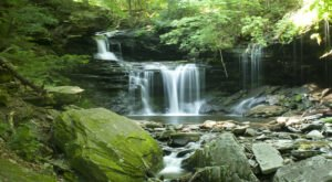 A Waterfall Lover's Dream, The Falls Trail Hike In Pennsylvania Passes Cascade After Cascade