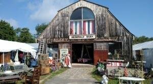 The Biggest And Best Flea Market In Massachusetts, Brimfield Antique Flea Market Is Now Re-Opening