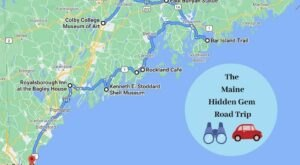 The Ultimate Maine Hidden Gem Road Trip Will Take You To 8 Incredible Little-Known Spots In The State