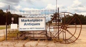 Shop 'Til You Drop At Marketplace Antiques, A Giant 53,000-Square-Foot Flea Market In Mississippi