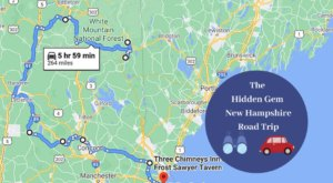 The Ultimate New Hampshire Hidden Gem Road Trip Will Take You To 8 Incredible Little-Known Spots In The State