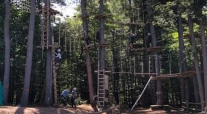The Most Thrilling Activities At New York's Adirondack Adventure Center