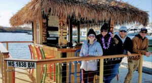 Turn Massachusetts' Salem Harbor Into Your Own Oasis By Renting A Motorized Tiki Bar