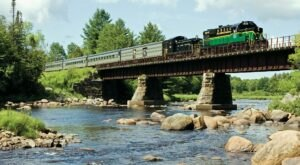 The Adirondack Mountain Railroad Offers Some Of The Most Breathtaking Views In New York