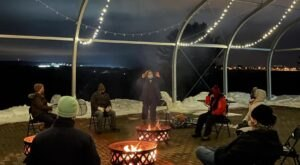 Cozy Up To Your Own Private Fire Pit At The Scenic Fruitlands Museum In Massachusetts