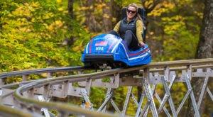 Ride Through Upstate New York On This Epic Adirondack Mountain Coaster