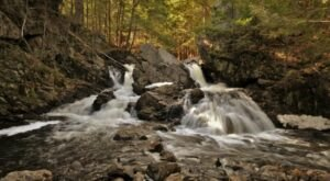 7 Easy-Access Massachusetts Waterfalls That Are Perfect For A Summer Adventure
