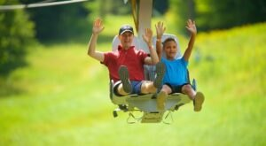 Grab A Friend And Fly Through The Air On The Soaring Eagle Seated Zipline In Massachusetts