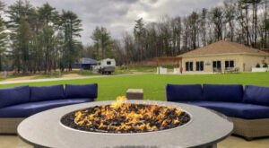 Massachusetts' New Glampground Getaway, Pine Lake Resort And Cottages Is Truly One-Of-A-Kind