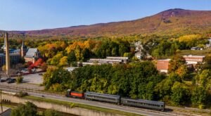 The Hoosac Valley Train Ride Offers Some Of The Most Breathtaking Views In Massachusetts