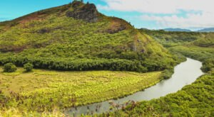 The Only Navigable River In Hawaii, Wailua River Is A Thing Of Natural Beauty