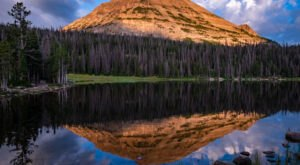 Take An Easy Loop Trail Past Some Of The Prettiest Scenery In Utah On The Mirror Lake Shoreline Loop