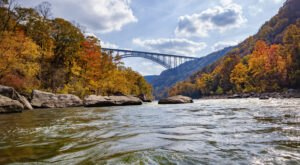 One Of The Oldest Rivers In The World Passes Right Through West Virginia