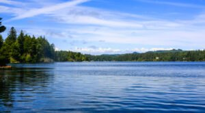 The Three Lakes At Oregon's Jessie M. Honeyman Memorial State Park Are Pretty Spots For Outdoor Recreation