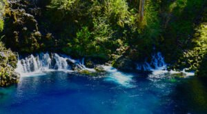This Hidden Lagoon In Oregon Has Some Of The Bluest Water In The State