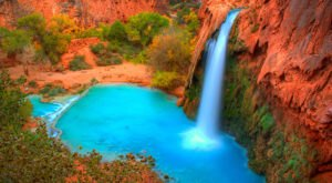 Havasu Falls: A Waterfall Wonder Hidden Deep Within The Grand Canyon