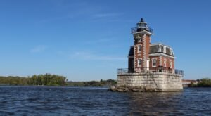 Hop On A Boat To Tour This Unique Lighthouse Right Here On The New York Coast