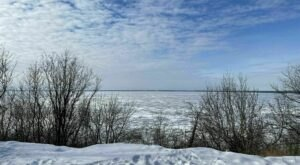 Explore 1,100 Acres Of Unparalleled Views Of Lake Winnebago On The Scenic Lime Kiln Trail In Wisconsin