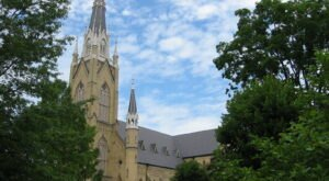 The Basilica Of The Sacred Heart In Indiana Is A Gothic-Revival Feast For The Eyes