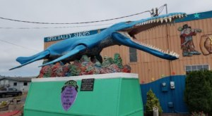 The Yaquina Bay Monster In Oregon Just Might Be The Strangest Roadside Attraction Yet