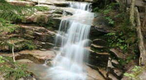 The New Hampshire Trail That Leads To A Stairway Waterfall Is Heaven On Earth