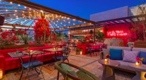 This Colorful Cantina In Florida Is One Part Rooftop Restaurant One Part Dreamscape