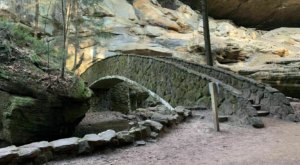 Old Man's Cave Is An Easy Hike In Ohio That Takes You To An Unforgettable View
