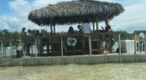 You Can Cruise Around The Ocean On This Floating Tiki Bar In New Jersey