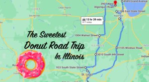 Take This Road Trip To Visit 10 Of The Best Donut Shops In Illinois