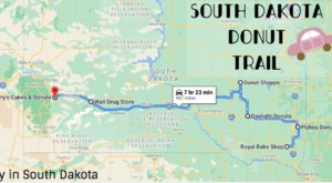 Take The South Dakota Donut Trail For A Delightfully Delicious Day Trip