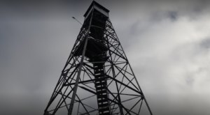 Climb To The Top Of Sounding Knob Fire Tower In Virginia For Unobstructed Mountain Views